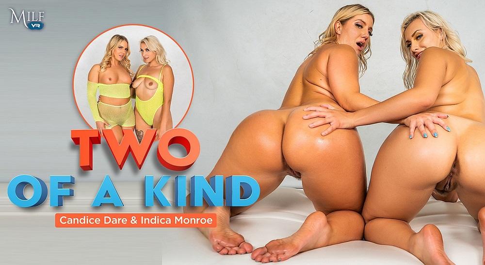 Two Of A Kind, Candice Dare, Indica Monroe, 19 August, 2021, 3d vr porno, HQ 3600