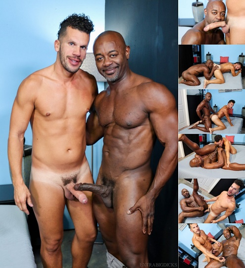ExtraBigDicks - Marco Lorenzo & Aaron Trainer - Deep Throat That Big Dick!