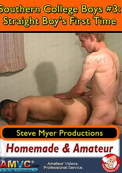 Southern College Boys 3 - Straight Boy's First Time