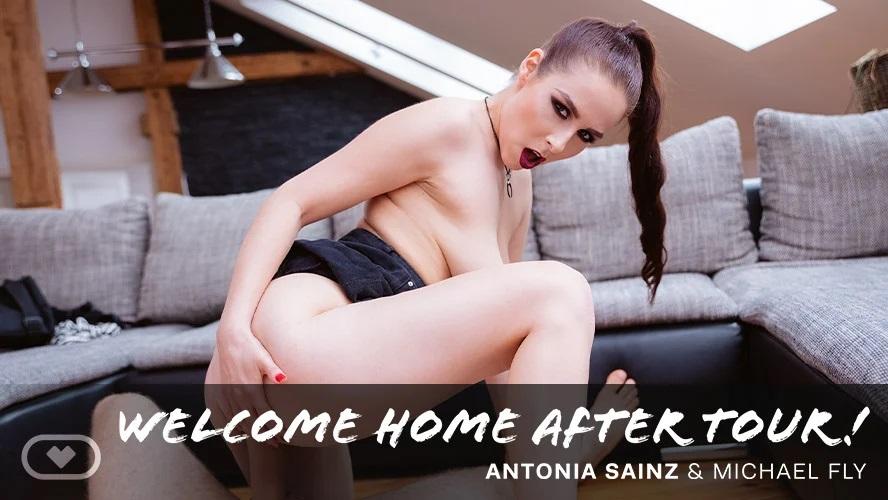 Welcome Home After Tour! Antonia Sainz, Jul 30, 2021, 3d vr porno, HQ 3840