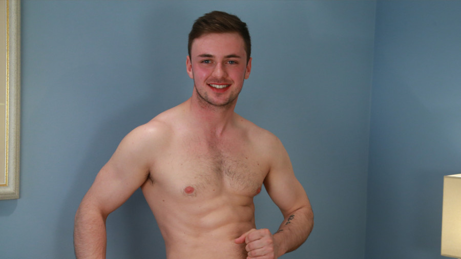 EnglishLads - Young And Musclur Straight Pup Briley Shows His Hairy Hole And Big Uncut Cock And Explodes