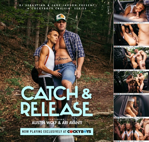 CockyBoys - Catch and Release - Austin Wolf and Ari Avanti