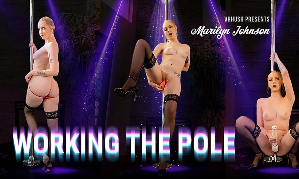 Working The Pole, Marilyn Johnson, 02 May, 2021, 3d vr porno, HQ 3840
