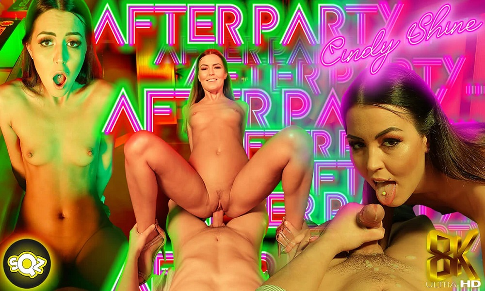 After Party, Cindy Shine, 16 July, 2021, 3d vr porno, HQ 3840