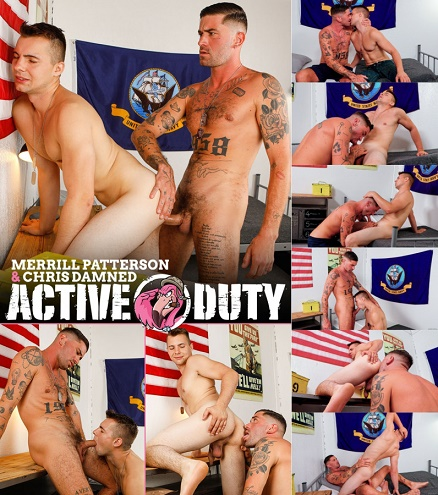 ActiveDuty - Merrill Patterson and Chris Damned - Merrill's First Big Cock