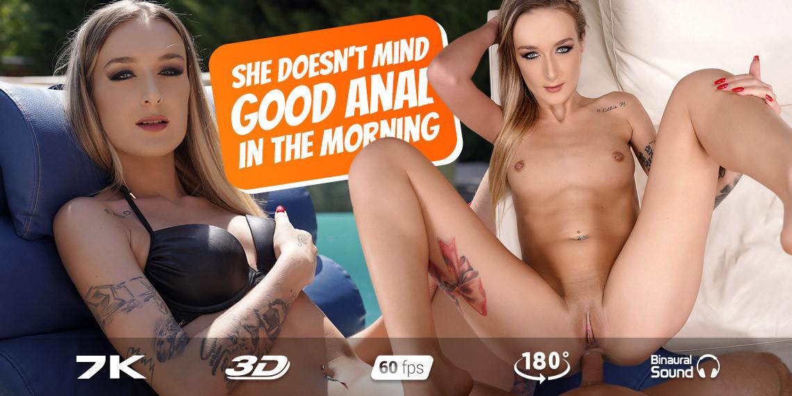 Hot Summer Morning, Elena Lux, September 5, 2021, 3d vr porno, HQ 3584
