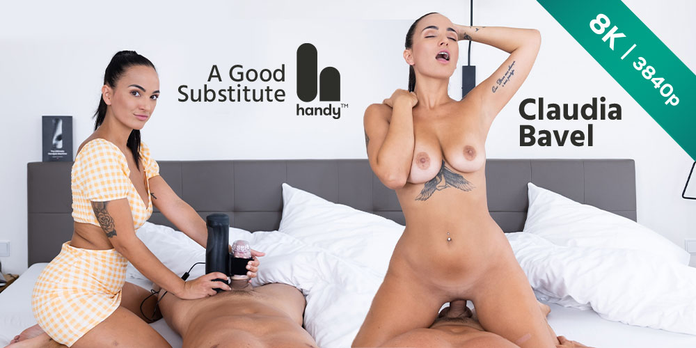 A Good Substitute, Claudia Bavel, 06 Sep 2021, 3d vr porno, HQ 3840