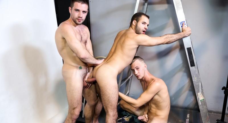 ExtraBigDicks - Acrobatic Menage - Dylan Knight, Braxton Smith, Luke Wilde