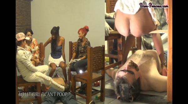 Carmen , Britany - Hold His head Down while we Poop ~ SD 480p