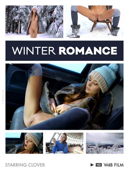 Clover - Peeing and posing - Winter Romance ~ FullHD 1080p