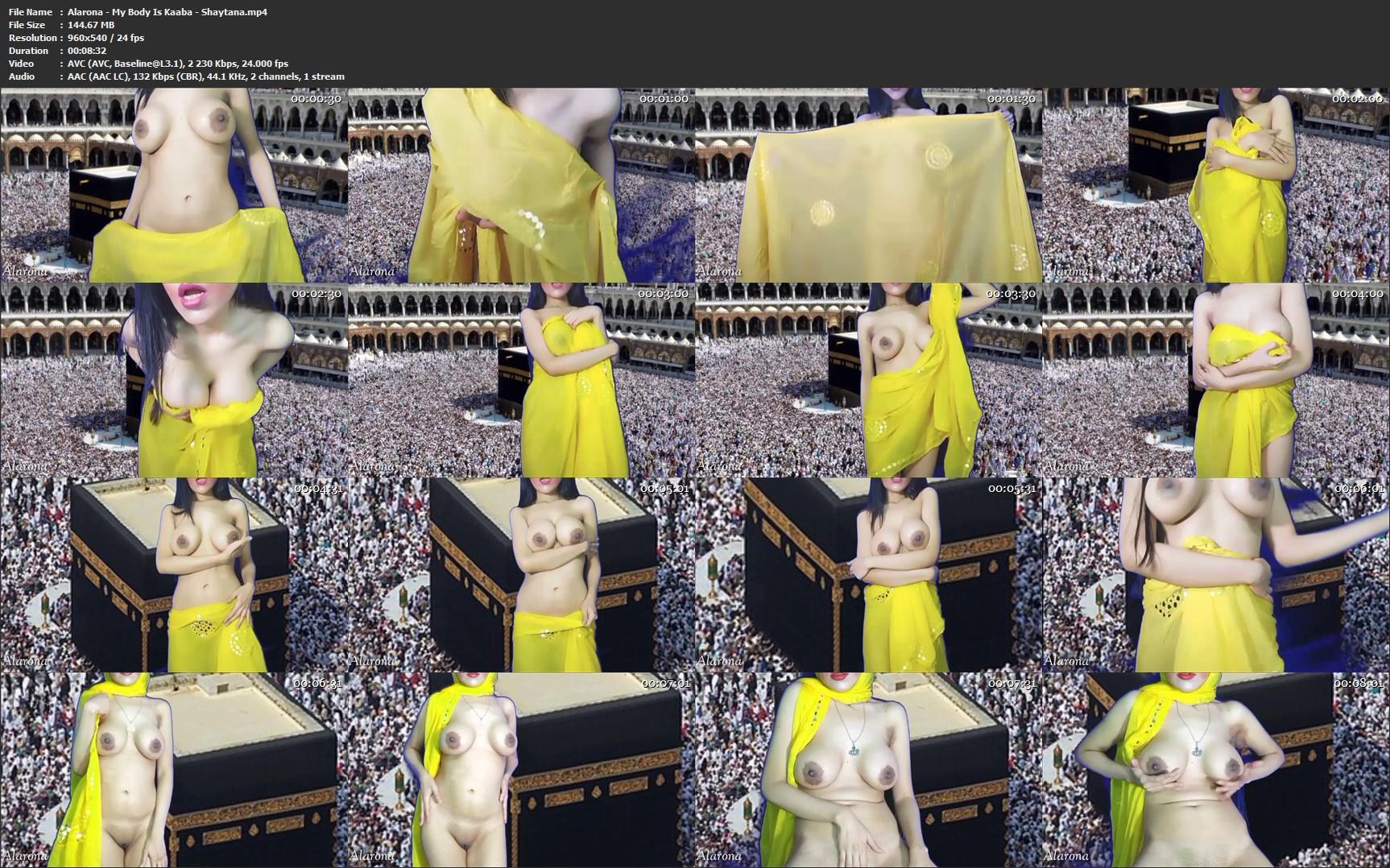 Alarona - My Body Is Kaaba - Shaytana - Masturbation Instruction