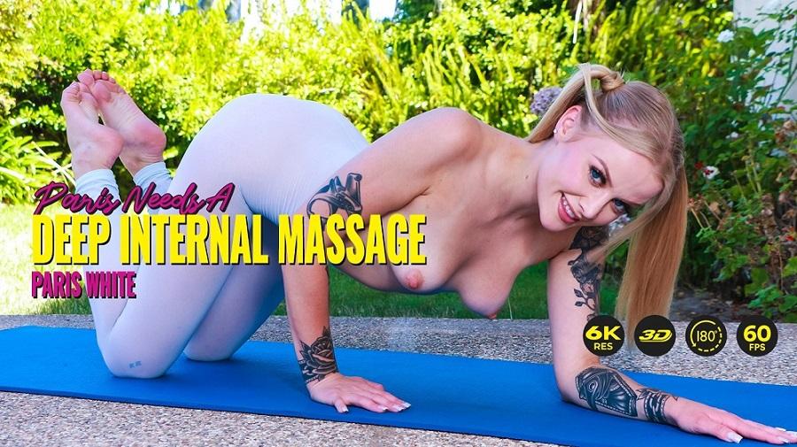 Paris Needs A Deep Internal Massage, Paris White, 13 September, 2021, 3d vr porno, HQ 2880