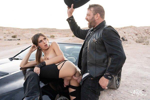 Jade Venus & Colby Jansen - TS Bareback fuck - Cowgirl Gone Wild (2021 / FullHD 1080p)