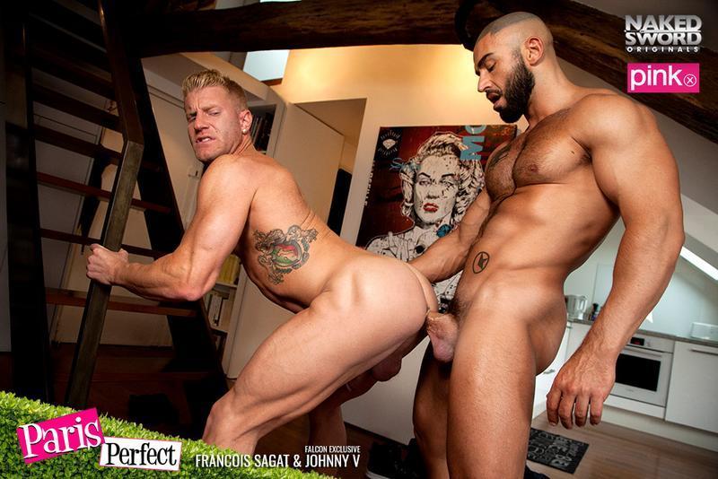 NakedSword - Paris Perfect - Francois Sagat & Johnny V