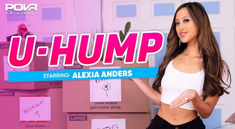 U-Hump, Alexia Anders, 8 September, 2021, 3d vr porno, HQ 3600