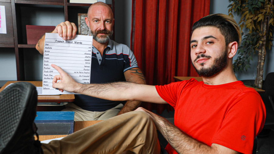 FamilyCreep - Musclebear Montreal & Adrian Rose - French Lessons With My Stepdad