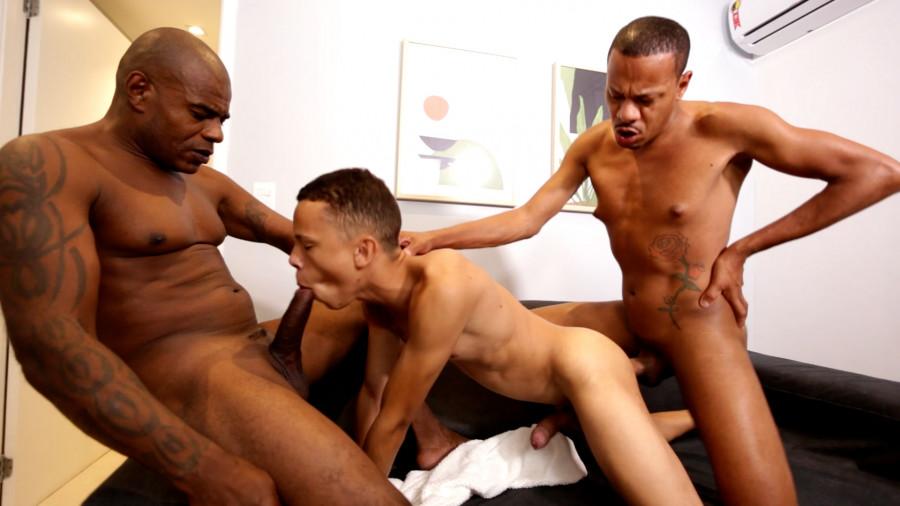 HotBoys - O trio compartilhado - Pedrinho, Jackson Jeba, Wesley Nike