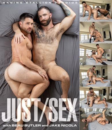 RagingStallion - Just Sex - Jake Nicola & Beau Butler