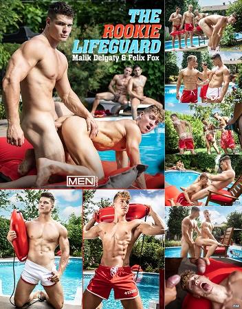 MEN - The Rookie Lifeguard - Malik Delgaty and Felix Fox