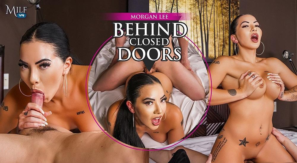 Behind Closed Doors, Morgan Lee, 7 October, 2021, 3d vr porno, HQ 3600