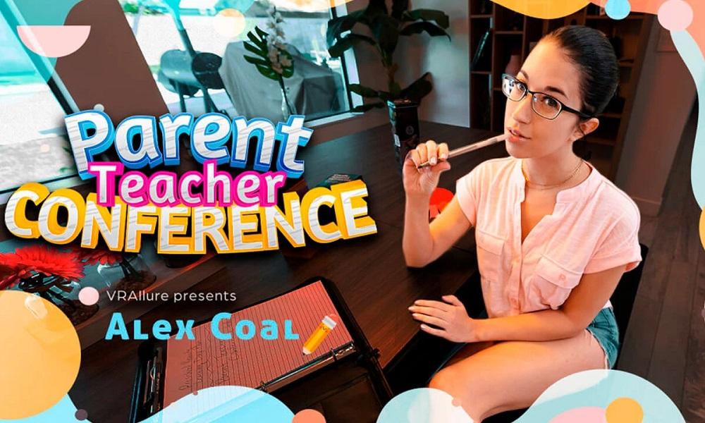 Parent Teacher Conference, Alex Coal, 12 July, 2021, 3d vr porno, HQ 3840