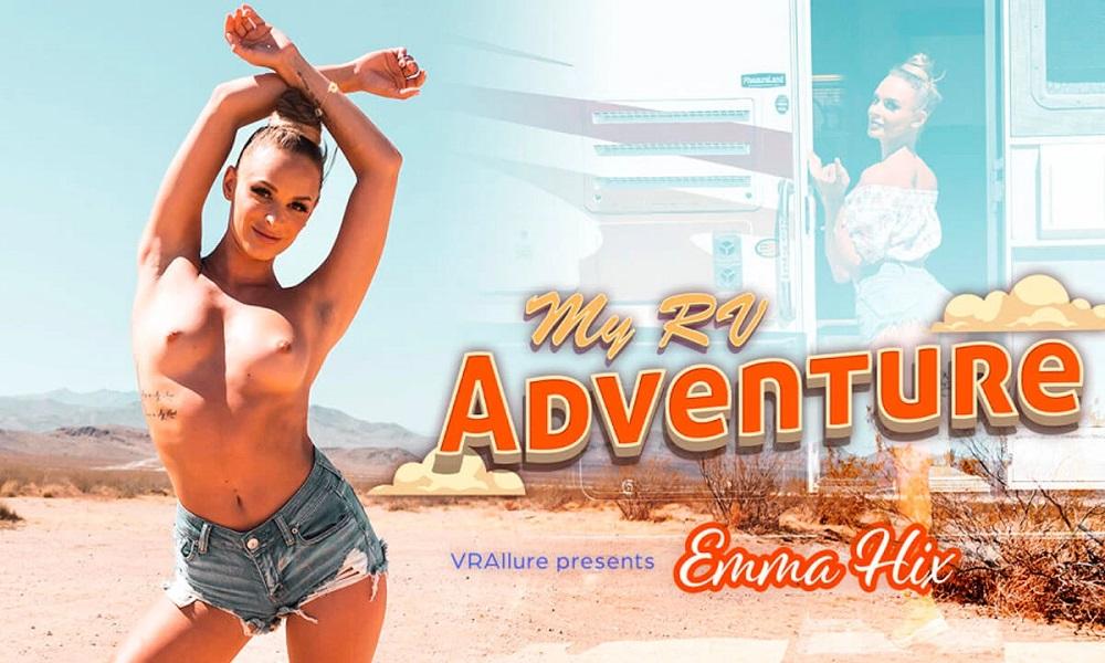My RV Adventure, Emma Hix, 18 July, 2021, 3d vr porno, HQ 3840