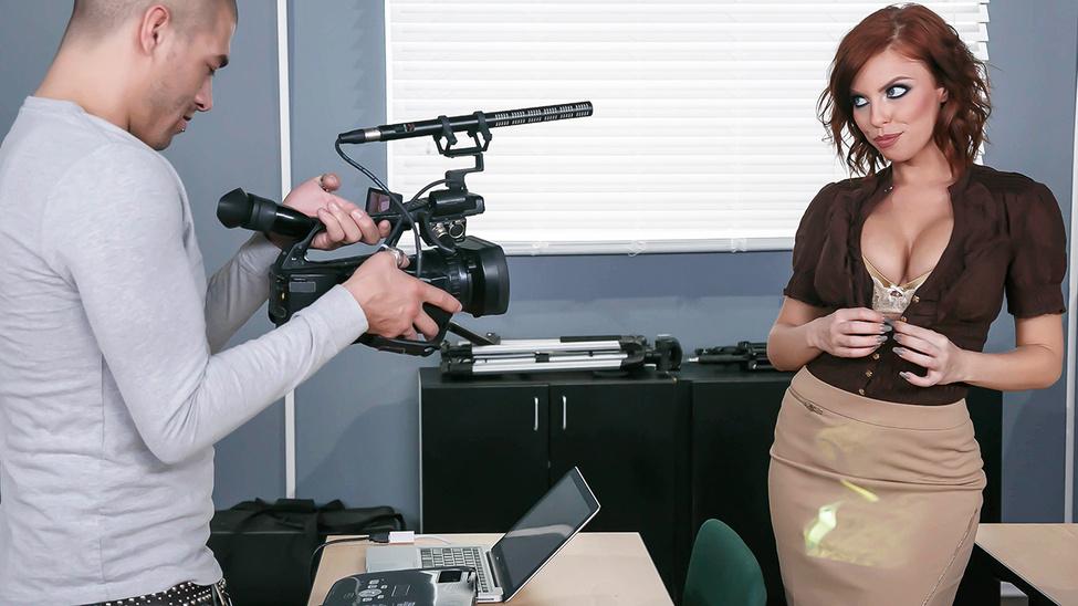 Britney Amber in Britney Amber (Titty Film School ) - Brazzers - BigTitsAtSchool