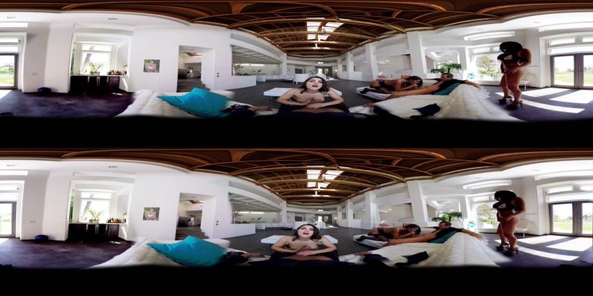 Valentina Nappi & August Ames & Jaclyn Taylor - Cumming Full Circle - A 360° Experience, 07.09.2015,Virtual Reality, UltraHD, 2048p