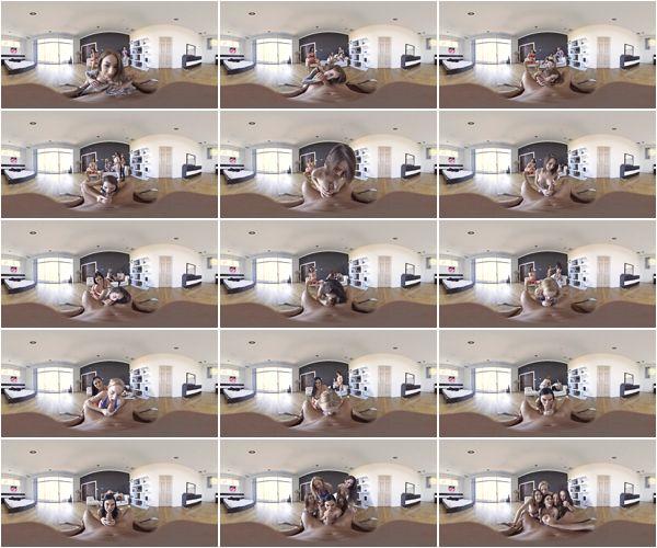 Jasmine Jae, Ziggy Star, Zoe Parker, Cece Capella, Stassi Sinclair - Valentine's day surprise, Virtual Reality, FullHD, 1280p