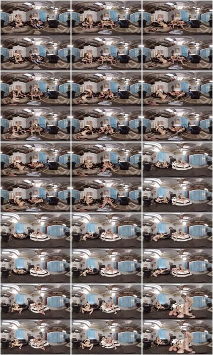 Anikka Albrite, August Ames, Karlie Montana, Adriana Sephora - Lights Camera Action,  01.19.2016, Virtual Reality, UltraHD, 2048p