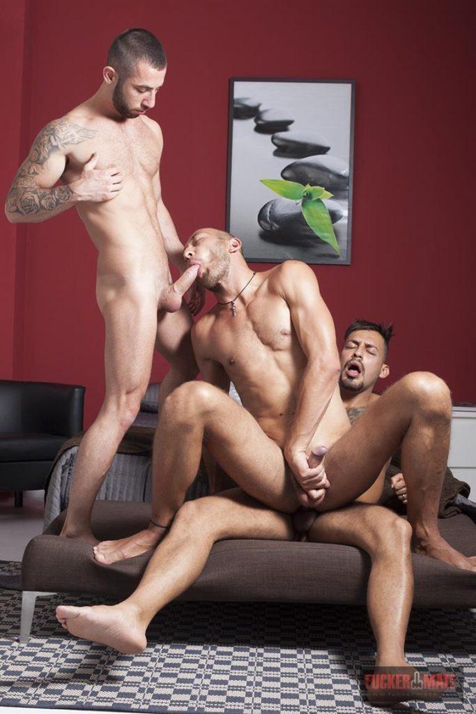 FKM – Viktor Rom, Alejandro Torres, Dominic Arrow – Interracial threesome