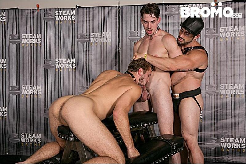 BroMo – The Steam Room Part 2 (Jaxton Wheeler, Jack Hunter & Wesley Woods)