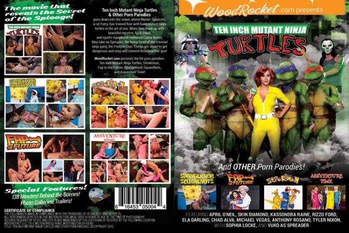 ten inch mutant ninja turtles - the xxx parody
