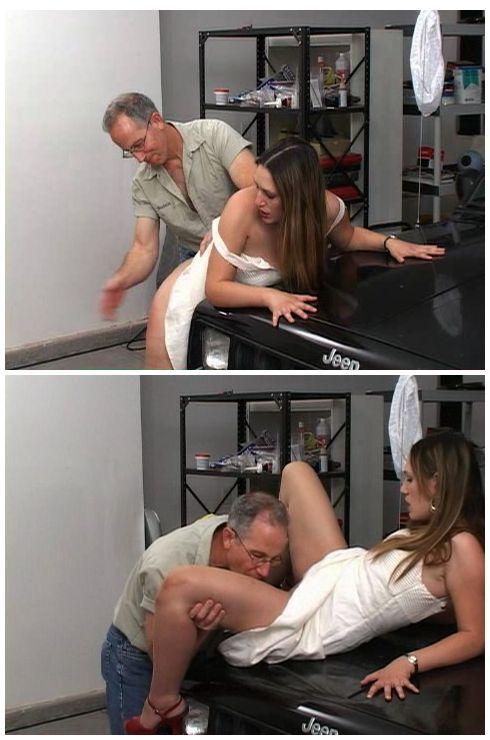 Spanking oral sex