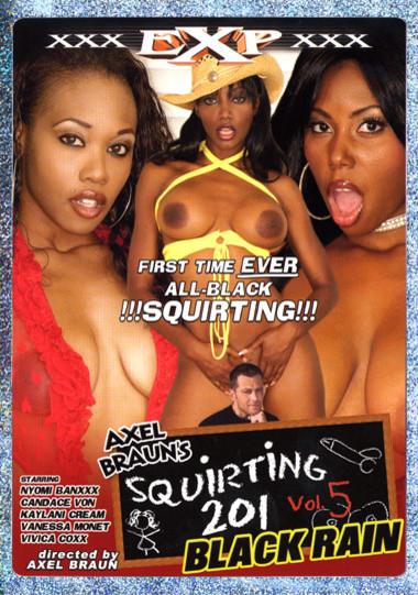 Squirting 201 #5: Black Rain
