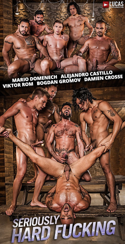 LE – Alejandro, Viktor, Bogdan, Mario, Damien – Bareback Orgy
