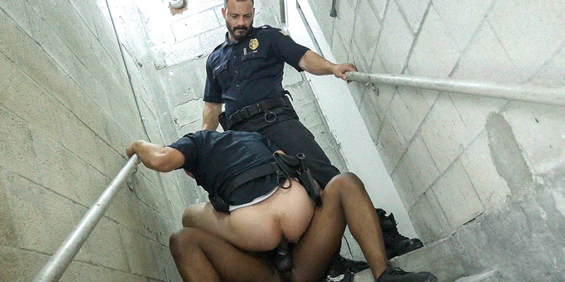 Gay police socks shoplifting leads to bum 4