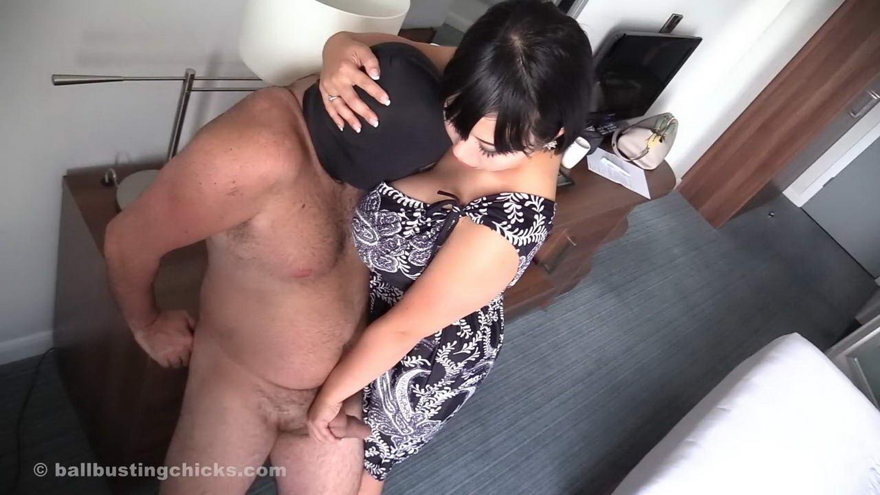 woman using a vibrator naked