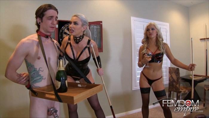 Cameron Dee Gigi Allens - Strap-ons Champagne Enemas 720p
