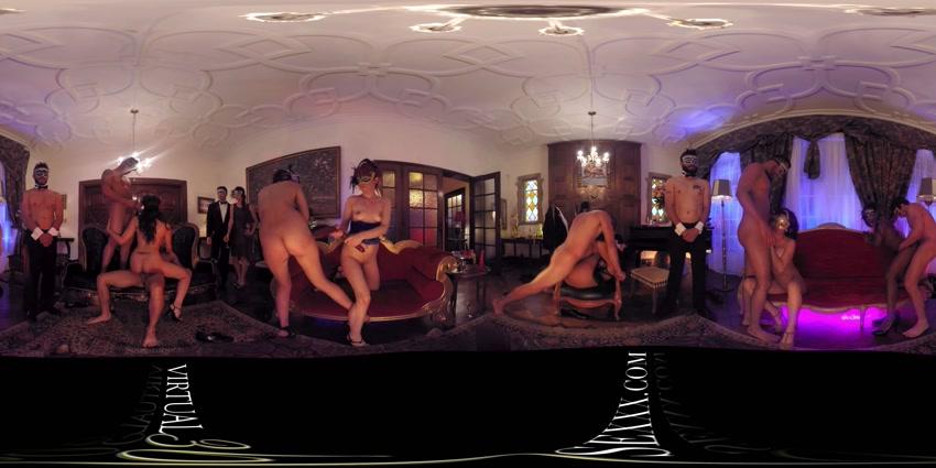 Mansion's Hall, 18 July 2016, 360° vr porno, UltraHD, 1920p