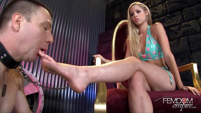 Brooke Logan - Bitchy Princess Toes 1080p