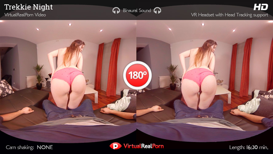 Amber Nevada - Trekkie Night, Virtual Reality, UltraHD, 2160p