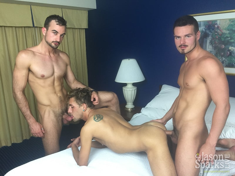 CJS – Alex, Kyle & Mason BAREBACK in Charlotte