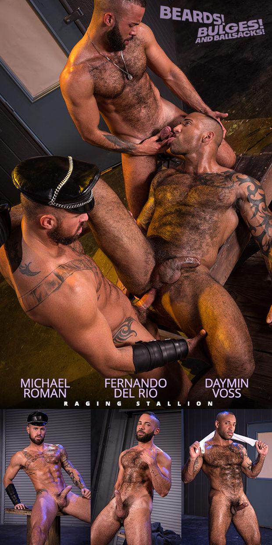 RS – Beards, Bulges & Ballsacks! – Michael Roman, Daymin Voss, Fernando Del Rio