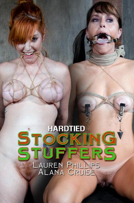 BDSM - Alana Cruise, Lauren Phillips - Stocking Stuffers [HardTied.com / 2016 / HD 720p]