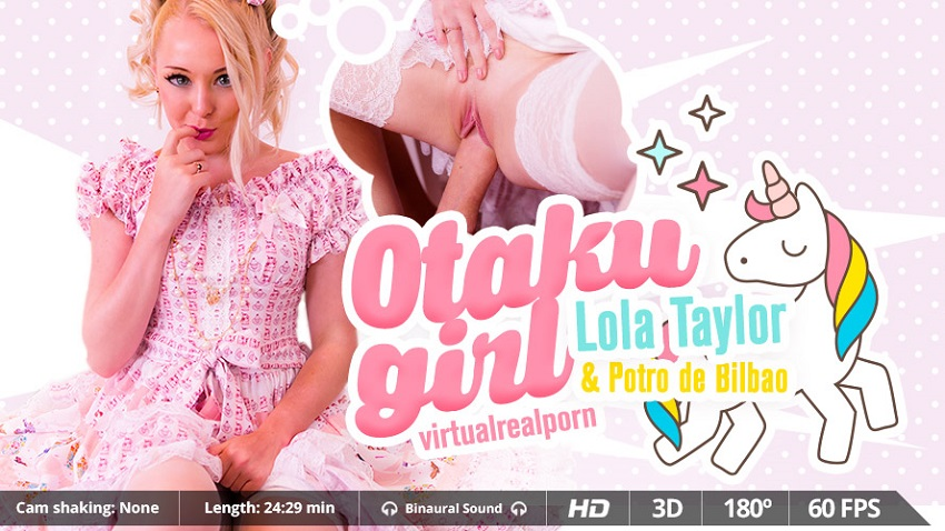 Otaku girl, Lola Taylor, 3d vr porno, UltraHD, 1600p