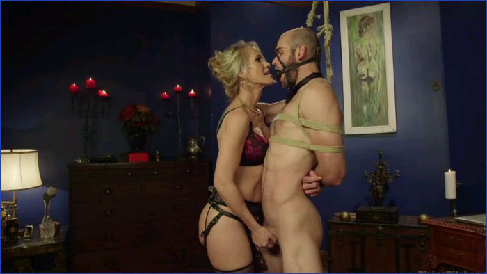Erotic interracial video