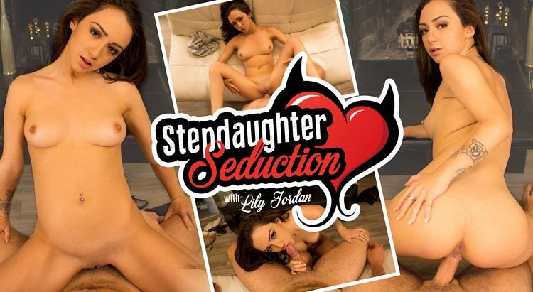 Stepdaughter Seduction, Lily Jordan, 27 September, 2016, 3d vr porno, UltraHD, 1600p