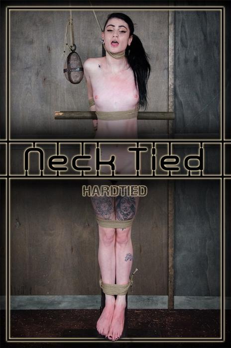 BDSM - Lydia Black - Neck Tied [HardTied.com / 19.07.2017 / HD 720p]