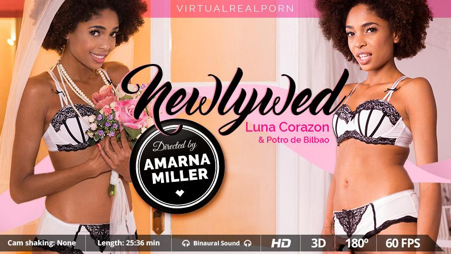 Newlywed, Luna Corazon, 3d vr porno, UltraHD, 1600p